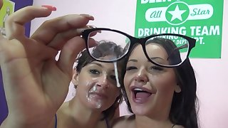Tory Lane and Rachele Richey collaborate for one large manhood