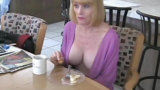 Amateur granny named Wicked Sexy Melanie gets laid big time here.